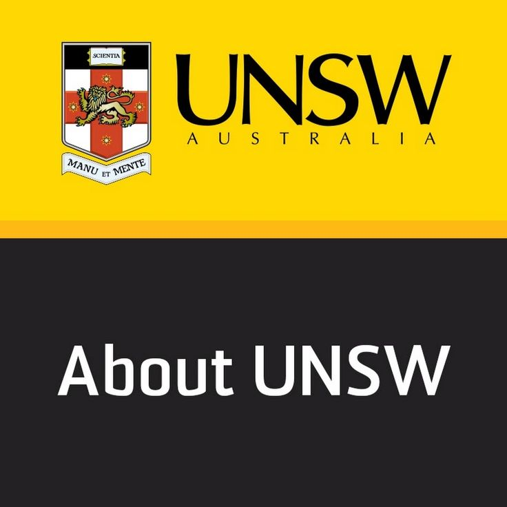 'About UNSW' is the channel that tells you everything you need to know about studying at UNSW Australia. Find out about your faculties, about campus life, about the UNSW experience.