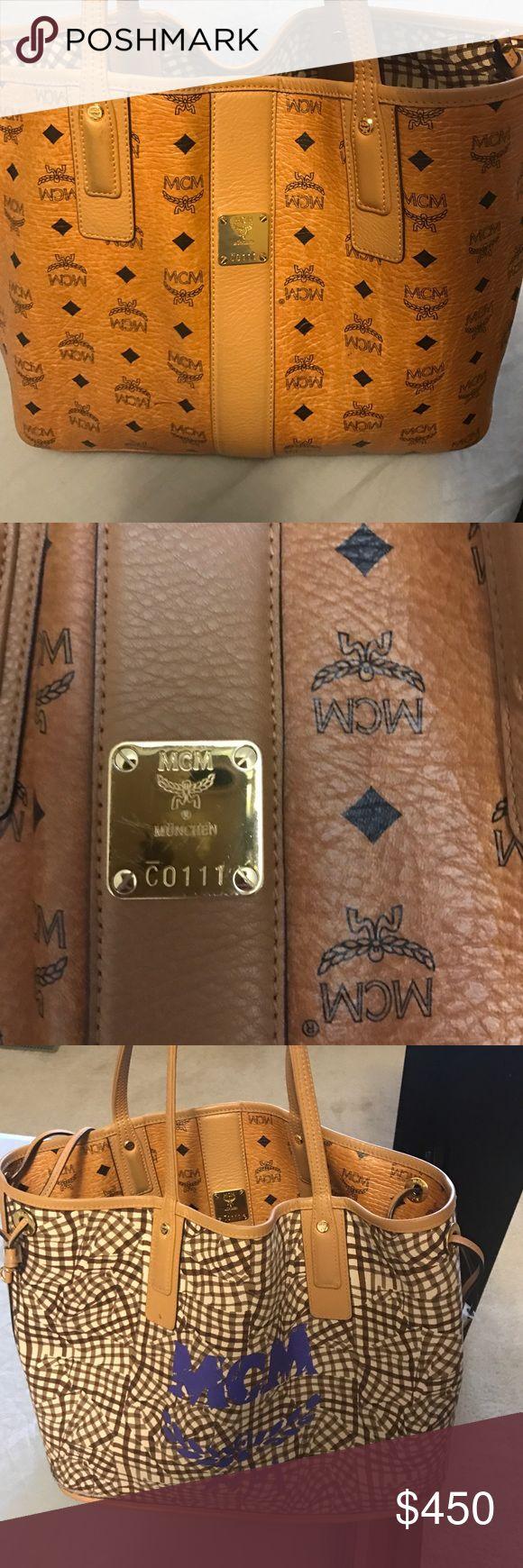 Authentic Reversible MCM Bag Gently worn authentic MCM Bag MCM Bags Shoulder Bags