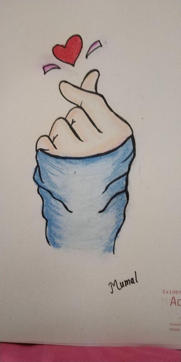 heart easy drawings рисунки sketches pencil источник uploaded user