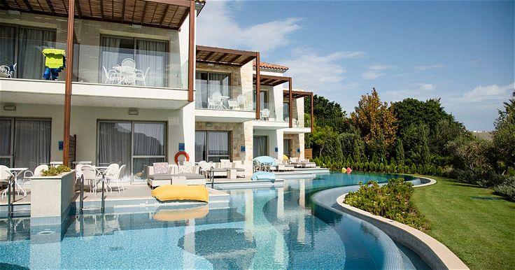 TUI Family Life Aegean Park by Atlantica ved stranden i Kolymbia på Rhodos har satt fokus på familie, trening og miljø. All inclusive inkludert!