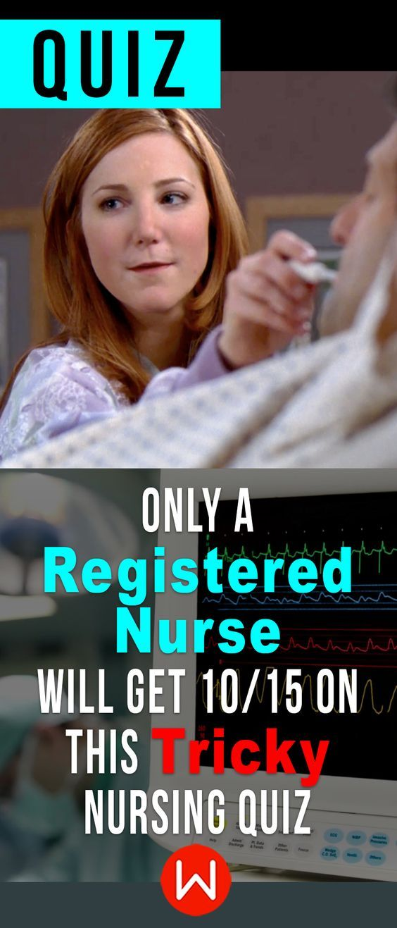 Don't worry... this won't hurt at all! Nurse trivia. Are you a registered nurse? Prove it! ONLY Real nurses will ace this medical knowledge test. Nurse trivia. Medical questions quiz.