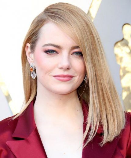 Best hairstyles long face shape emma stone Ideas