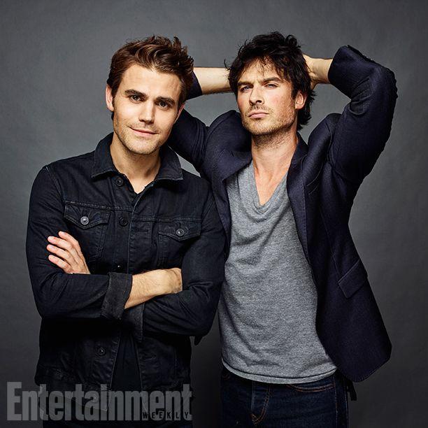 #TVD The Vampire Diaries Comic-Con 2016 Paul Wesley(Stefan) & Ian Somerhalder(Damon)