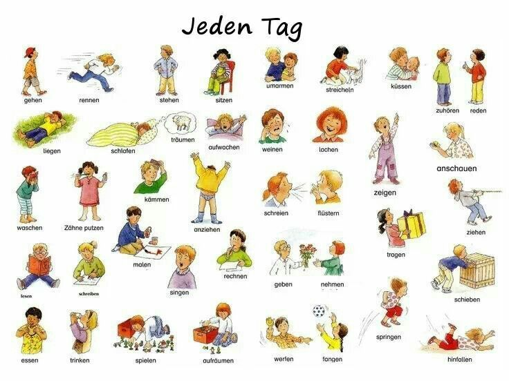 Jeden Tag (1) | #Deutsch #German #Alemán