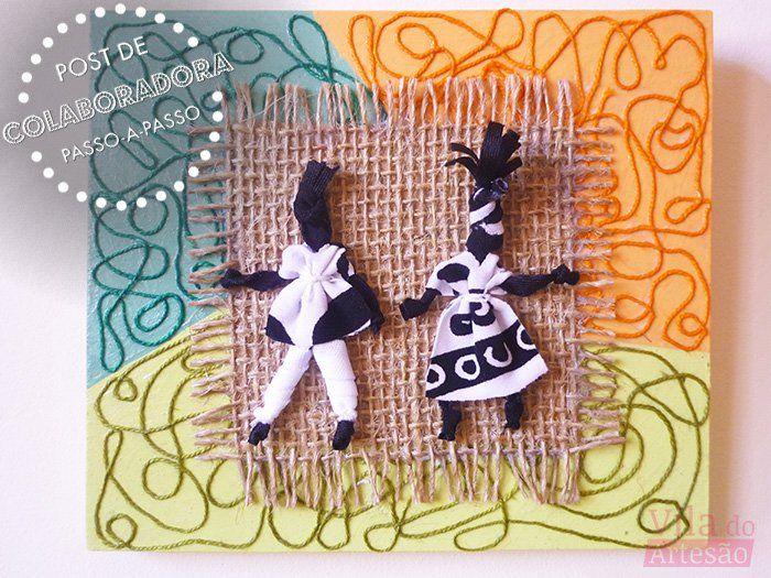 Abayomis, como fazer as bonecas africanas - Vila do Artesão