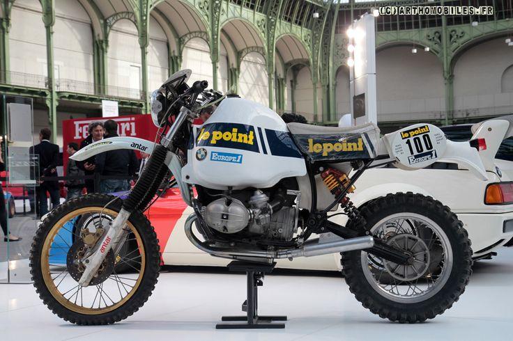 Magnifique BMW 980 de Hubert Auriol - Paris Dakar 1983