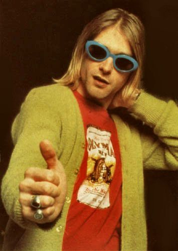 In The Sun I Feel As One : Kurt Cobain Sunglass Fashion Parade ...