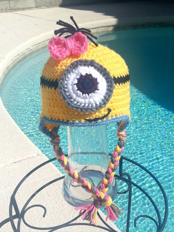 Minion,Minion costume,Minion hat,Minion costume,Halloween costume,Baby minion,Toddler minion,Child minion,Adult minion,Gift idea by TanglingThreads on Etsy