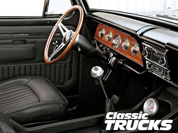 1968 ford f 100 classic trucks magazine auto truck for Camiones ford interior