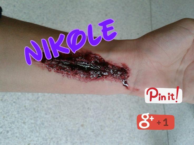 Heridas Hecho por: Nikole Ramirez