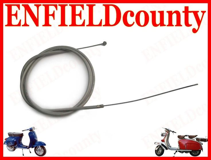 NEW VESPA SCOOTER FRICTION FREE CLUTCH CABLE VBB VBC VLB & OLD VESPA MODELS
