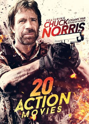 20 Action Movies: Featuring Chuck Norris [4 Discs] [DVD]