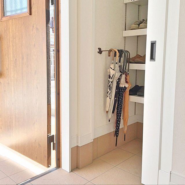 おしゃれ玄関収納 靴からほうきまで片付くアイデア総集編 玄関 土間