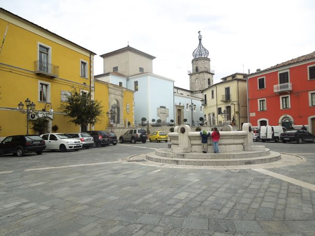 """The Piazza in Sepino, Italy.  Mom & Dad's Hometown. """"ONE OF THE MOST BEAUTIFUL VILLAGES IN ITALY: SEPINO, ITALY"""" Jason & Jill DiLoreti; Food, Farm & Family — in Sepino."""
