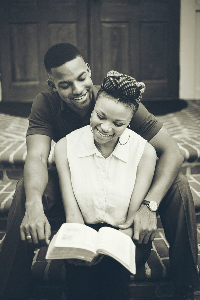 Vintage, Christian Engagement Photos African American Vintage Engagement Photos Koontz Photography (c)
