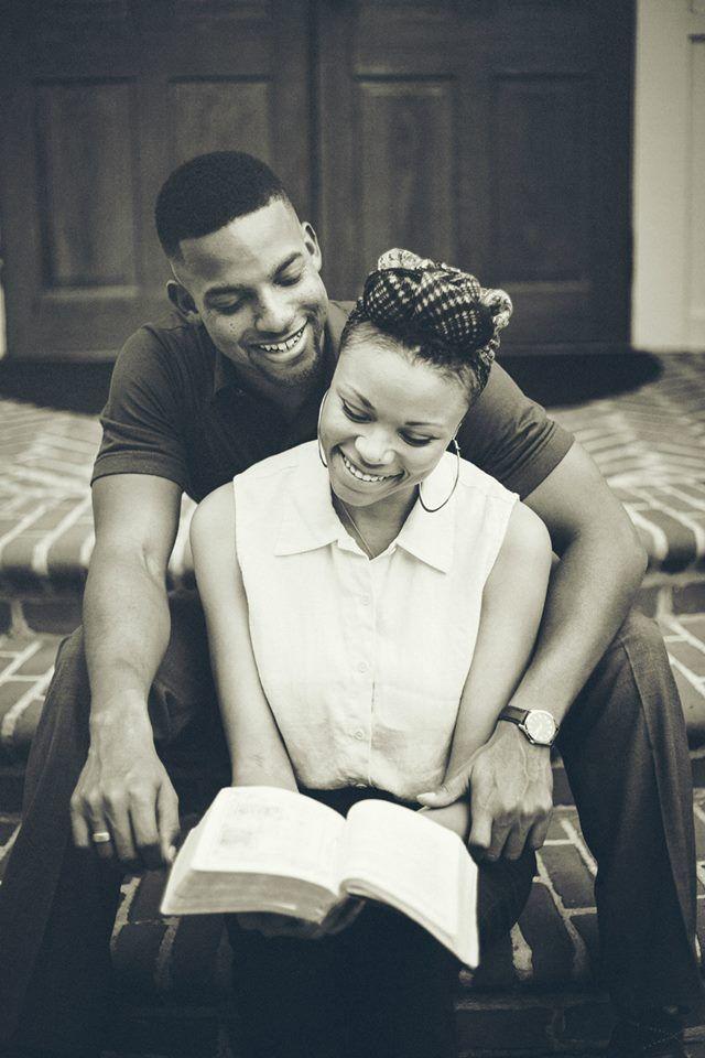 Vintage, Christian Engagement Photos African American Vintage Engagement Photos Koontz Photography (c)