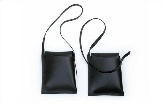 Leather Satchel by Garvan de Bruir.