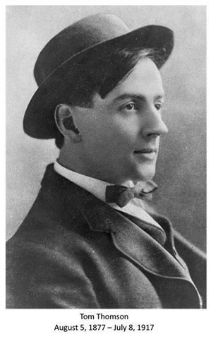 Tom Thomson (1877-1917). Despite its influence on the Group of 7 and to be one of its drivers maximums , I do not get to be part of it. The group was formed in 1920 and died in mysterious circumstances in 1917