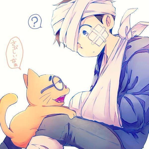 Karamatsu & Esp kitty