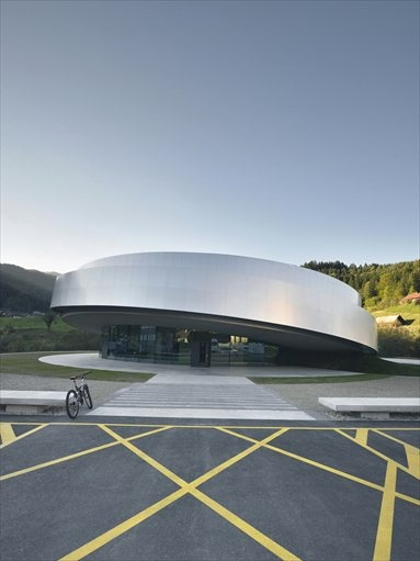 Cultural Center of European Space Technologies (KSEVT) – Vitanje, Slovenia – 2012 – OFIS Architects #architecture #art #centre