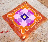 Diwali rangoli designs 15 – Marcela Spanton