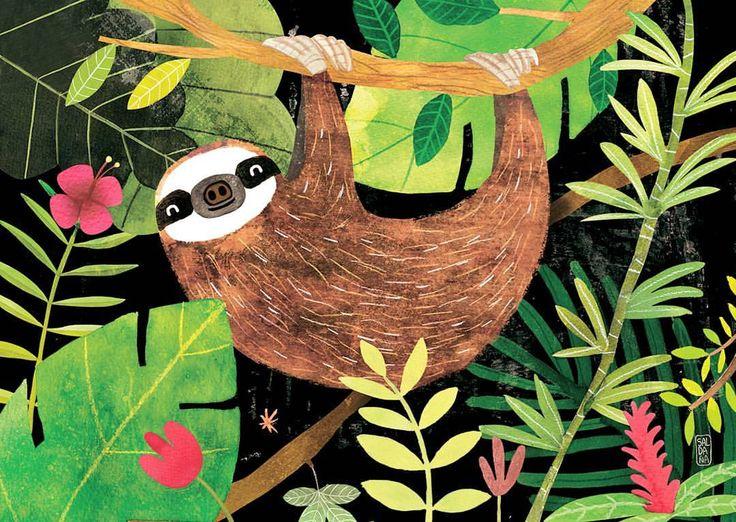 Señor Perezoso estará pronto a la venta en mi tienda Etsy 😊😊😊 ¿Os gusta? //// Mr Sloth will be for sale in my Etsy shop 😊😊😊 Do you like it? #sloth #perezoso #wildanimals #costarica #fauna