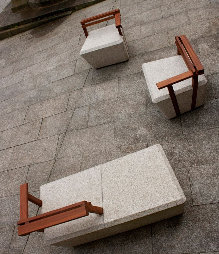 noia intramuros urban furniture revitalizes public spaces