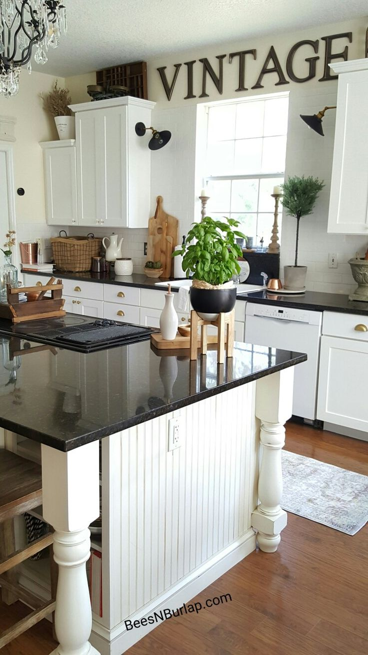 1000 images about beesnburlap home decor on pinterest for Country industrial kitchen designs