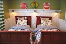Construction Room: Cute Boys, Boys Bedrooms, Boys Rooms, Wall Treatments, Boy Rooms, Street Signs, Barns Doors, Trim Work, Kids Rooms