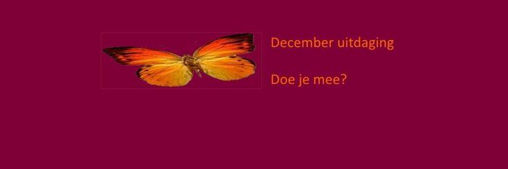 December uitdaging.