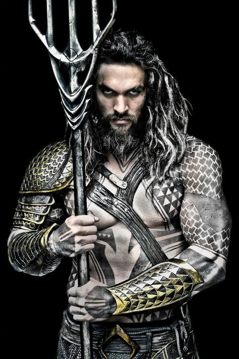A Hi-Res Promo Photo of Jason Momoa's Aquaman this guy scares the shit out of me