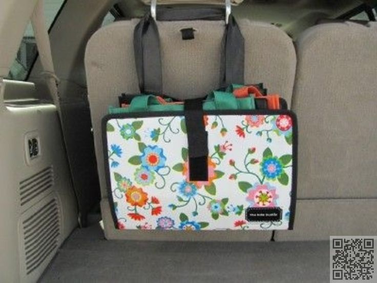 13. Good #Storage Idea in Car for Reusable Bags - 24 #Reusable Bags That Will Totally #Change Your Shopping Habits ... → DIY #Shopping