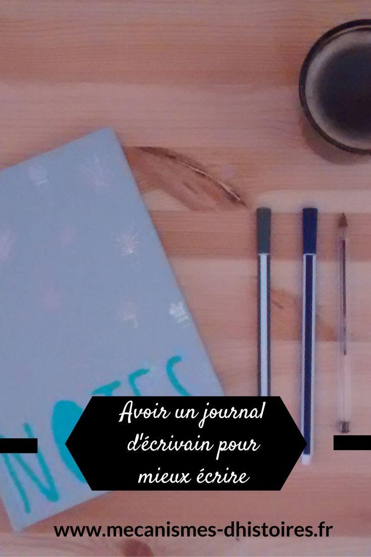 Comme un journal intime, un journal d'écrivain est un journal dans lequel vous écrivez avant et après chaque session d'écriture. C'est à la fois un journal intime, un carnet d'objectifs et un carnet de travail qui permet de mieux se connaître soi-même.