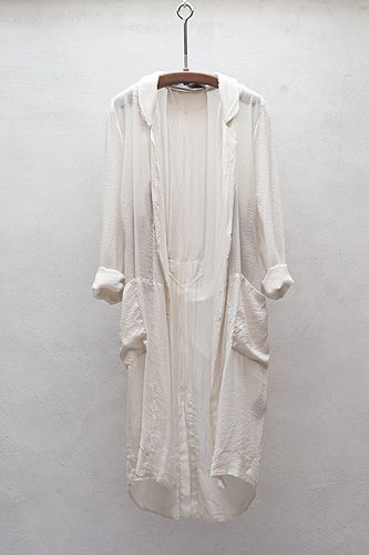 // Raquel Allegra silk robe