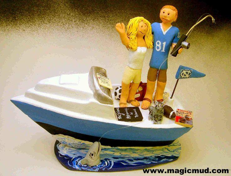 "www.magicmud.com 1 800 231 9814 $250 mailto:magicmud@m... blog.magicmud.com twitter.com/... www.facebook.com/... $250#fishing#football#yacht#canoe#boat#powerboat#raft#""fishing_boat""#motor_boat#sailboat#boating #wedding #cake #toppers #custom #personalized #Groom #bride #anniversary #birthday#weddingcaketoppers#cake toppers#figurine#gift#wedding cake toppers"