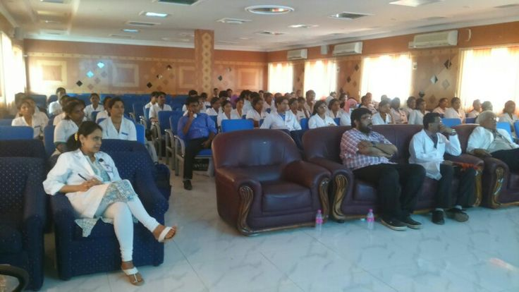 My guest lecture on dental sleep medicine at Thayi Mugambica dental college Chennai