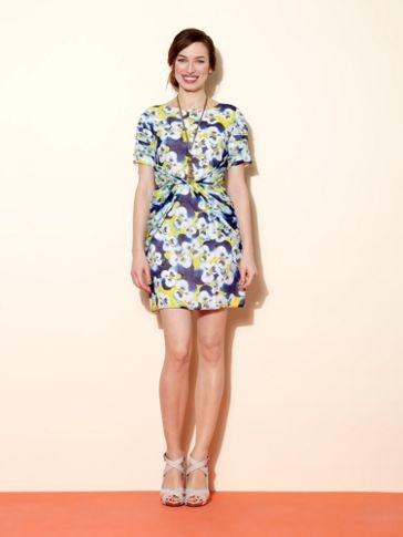 Olivia Rubin Petal silk dress Vivid Blue - House of Fraser