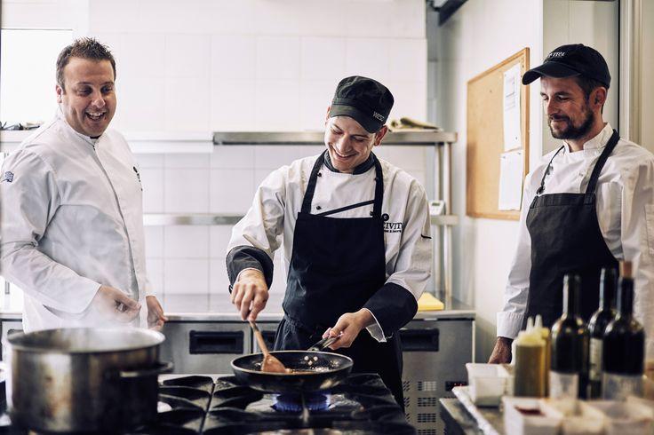 Our expert kitchen team is always ready to serve you!  #AttikAthens #awarded #executive #chef