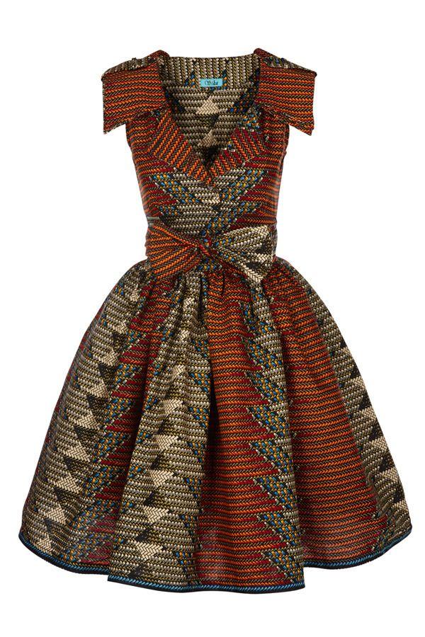 SIKA BOUTIQUE — Lab Shirt Dress (Matric Multi)