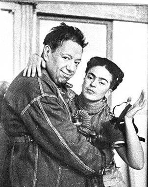 Expondrán vida y obra de Diego Rivera y Frida Kahlo