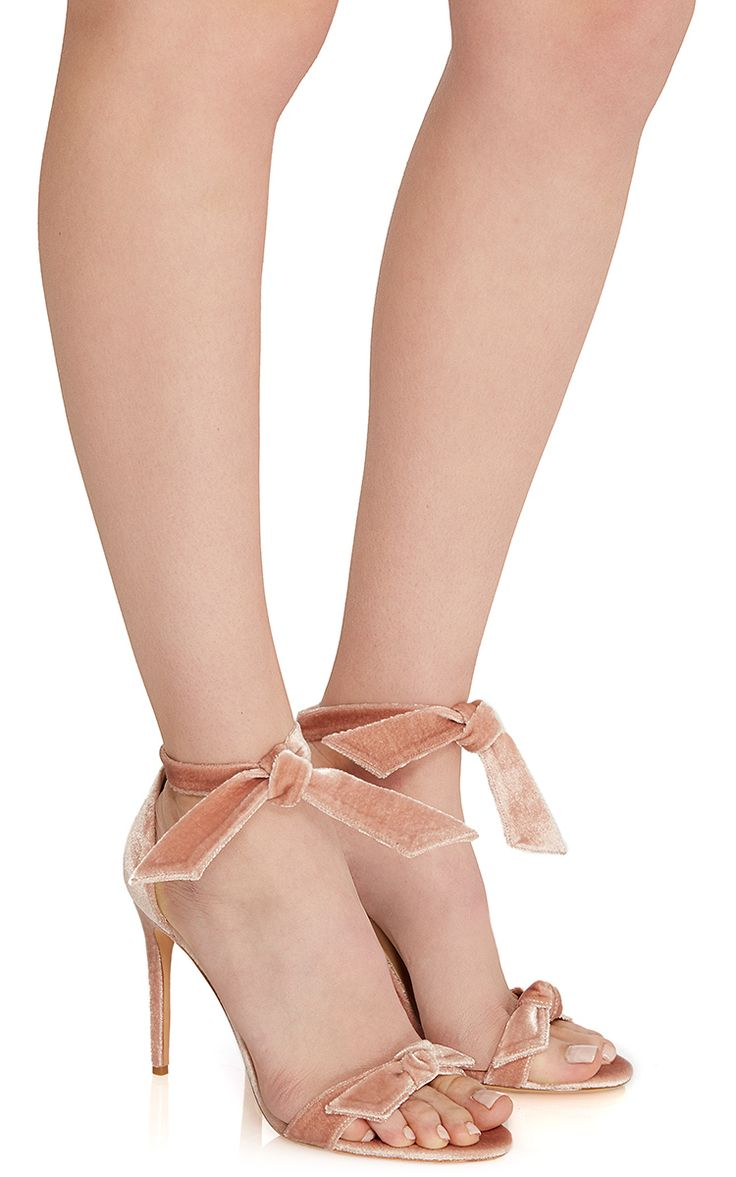 Clarita Velvet Sandal by Alexandre Birman | Moda Operandi