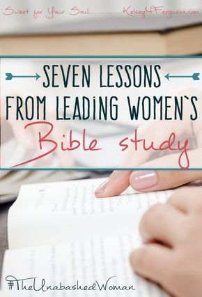 If you have ever considered leading a women's Bible study, then this post is for you. One woman shares how God used her to put together and head a women's Bible study at her church.