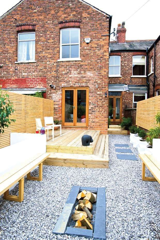 outdoor entertaining in terrace house garden google search