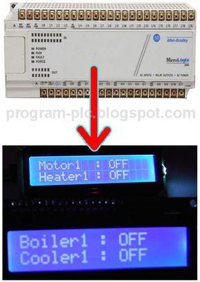 LCD Display Arduino for Allen-Bradley PLC Micrologix | Micro