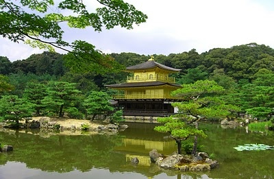 Kinkaku-ji (Temple of the Golden Pavilion) is one of Japan`s best known sights.
