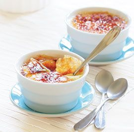 This is the BEST Creme Brulee recipe out there!  Comes out perfect every time! Try it, you'll love it! I have never tried to make this myself, but, it is my all time favorite dessert... so, I guess... I will try it :)