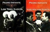 LOS TRES GARCIA Y VUELVEN LOS GARCIA (PEDRO INFANTE PK DE 2 DVD DRAMA