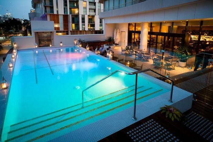 Bacchus, Bar Pool Restaurant - South Bank, Brisbane