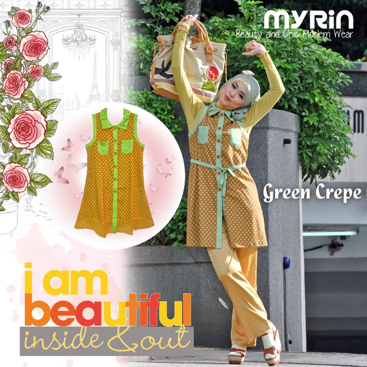 Green Crepe outer 250.000 with belt  match it with Ungaro Pants 275.000. Perfecto!