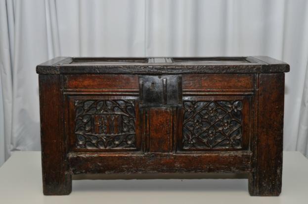 A Tudor-Stewart marriage: oak chest wedding gift for James IV and Margaret Tudor discovered